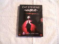 "Cat Stevens ""Majikat""  De luxe edition DVD Digi book 2004 USA Ed Zone 1 New $"