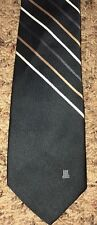 LANVIN New York Paris Stripe Designer Neck Tie Accessory