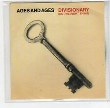 (FE263) Ages and Ages, Divisionary (Do The Right Thing) - 2014 DJ CD