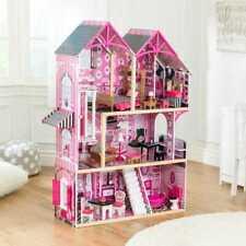Kidkraft Bella Dollhouse | Wooden Dollhouse | Kids DollsHouse | Fits Barbie Doll