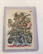 VINTAGE - 1970s Donruss Oddest Odd Rods Stickers/Cards #101