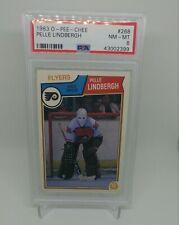1983-84 OPC O-Pee-Chee #268 PELLE LINDBERGH rookie PSA 8 NM-MT Flyers
