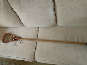 Vintage STX Model 74 Lacrosse Stick Wood Shaft Handle 47 in