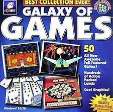 Galaxy of Games: Blue Edition (PC) Windows 95/98