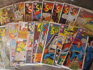 DC SUPERMAN #156-218 SUPERBOY Silver Age Lot of 21!