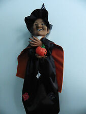 VINTAGE Telco Animated Witch Motionette Halloween Prop Decoration Battery Operat