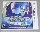 Pokemon Moon for Nintendo 3DS Brand New! Factory Sealed! Fast Shipping!
