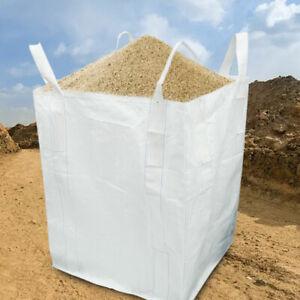 Bulk Bag 1 Tonne Builders Bags 43 x 35 x 35 Inch Garden Waste Bags FIBC Bulk Bag