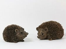 More details for frith sculpture hedgehog prickly & squeak brother & sister thomas meadows