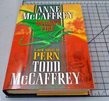 Anne & Todd McCaffrey DRAGON'S FIRE  Hardcover HC (Dragonriders)