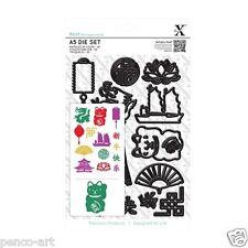 Docrafts Xcut 14 pièce A5 feuille nouvel an chinois die set x cut sizzix eBosser +