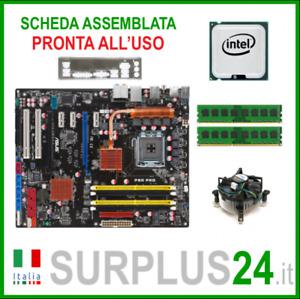 ASUS P5Q PRO + Core™2 Quad Q9550 + 4GB RAM   Kit Scheda Madre 775 I/O #2314