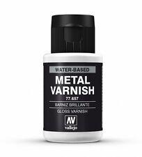 Vallejo Metal Color Brillo barniz de metal 77.657 32ml pintura acrílica a base de agua