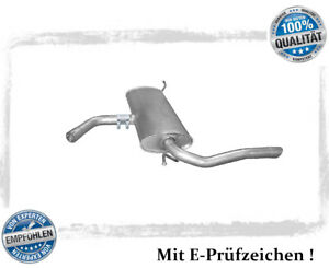 Endschalldämpfer für Seat Altea XL / Toledo III 1.6 1.9 TDI Auspuff Endtopf