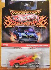 2009 Hot Wheels Drag Strip Demons Time Traveler 1974 Chevy Vega F/C