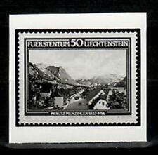 Photo Essay, Liechtenstein Sc745 Painting, Landscape, Moriz Menzinger, 1832-1914
