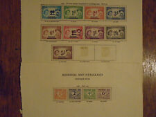 Rhodesia Nyasaland dues revenues collectoin
