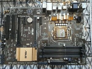 Boxed ASUS Z97-P Socket LGA 1150 DDR3 HDMI ATX Motherboard, never used.