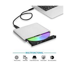 External USB3.0 USB C Lightscribe DVD CD Burner Drive,TPfeel Aluminum Portabl...