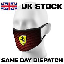 🔥🔥🔥FaceMask Ferrari Motorsport Formula 1 Washable Reusable Adults Kids 6156