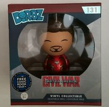 Funko Dorbz Free Comic Book day Iron Man Unmasked Tony stark