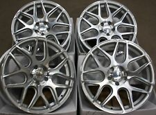 "ALLOY WHEELS X 4 FITS SAAB 9-3 9-5 93 95 9-3C JEEP COMPASS RENEGADE 18"" SMF CR1"