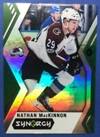 2017-18 UD Synergy Green #18 Nathan MacKinnon Colorado Avalanche Parallel