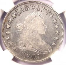 1807 Draped Bust Half Dollar 50C - NGC VF Details - Rare Certified Coin!