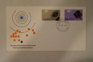 Day Cover - New Zealand - 1971 - Opening of Satellite Earth Station