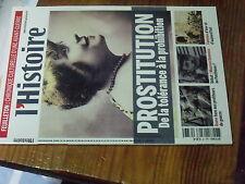 4µ? Revue L'Histoire n°383 Prostitution / 1000 ans de Famines Avedick Khaldun