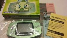Game Boy Advance CELEBI GREEN Console System AGB-001 Pokemon Center Nintendo