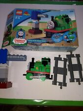 Lego Duplo Thomas - Percy At The Water Tower + Factory Box #5556 (100% Complete)