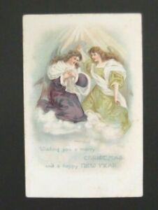 Postcard-Christmas Card-Unused