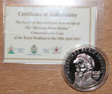 """""""Blessings From Heaven"""" commemorative coin of the Royal Wedding"""