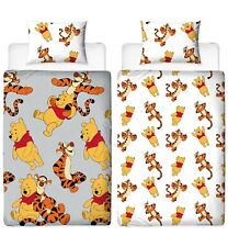 Official Disney Winnie the Pooh Friends Reversible Single Duvet Bedding Set