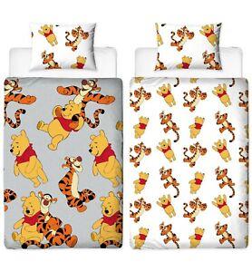 Disney Winnie the Pooh Friends Reversible Single Duvet Bedding Set Official