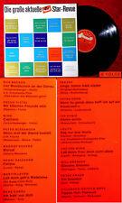 LP grande corrente POLYDOR STAR-Revue 6. sequenza 1963 (edizione speciale P 71 516 Hi-Fi)
