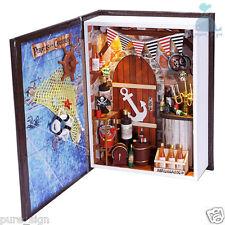Progetto fai da te Handcraft in Miniatura Kit la SAILOR'S DIARY luci casa di bambole in legno