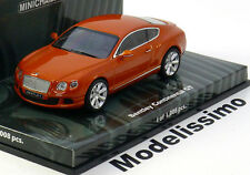 1:43 Minichamps Bentley Continental GT 2011 orange-metallic