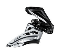 Shimano SLX FD-M677-H Side-Swing Front Derailleur 2x10 High Clamp Double Black