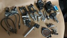 Mathews Studio Equipment Super Mafer Clamps, Lowel Lobo, misc gaffer clamps Lot