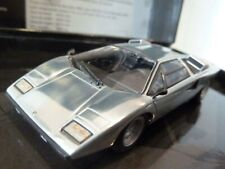 WOW EXTREMELY RARE Lamborghini Countach LP400 1974 Chrome 1:43 Minichamps-Espada