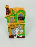 Russel Stover Looney Tunes Halloween Haunted House Bank Coin Spooky 1997
