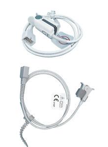 SPO2 Finger Sensor for BCI Pulse Oximetry Oximeter Monitors, Adult Pediatric