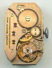 Normis Watch Co. Wristwatch Movement - Good Balance - Sold 4 Parts / Repair!