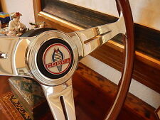 "Shelby Cobra  67  Wood Steering Wheel 15.3"" NOS NEW"