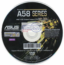ASUS GENUINE MOTHERBOARD SUPPORT DISK A58 SERIES REV1162.03 M4724