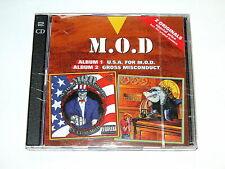 M.O.D. - U.S.A. for M.O.D.+ Gross Misconduct 2 Originals CD 1998 NEU OVP S.O.D.