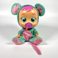 Rare Cry Baby Doll Babies La La in Turquoise Mouse Outfit With Dummy