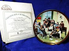 Norman Rockwell's The Story Hour Factory Box Coa